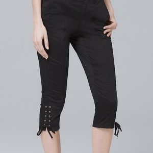 White House Black Market Pants - {{SALE}} WHBM Short Pedal Pushers
